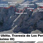 Cresta de los Portillines, Peña Ubiña