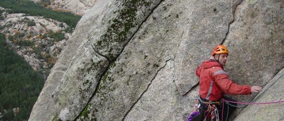 Curso de escalada clásica