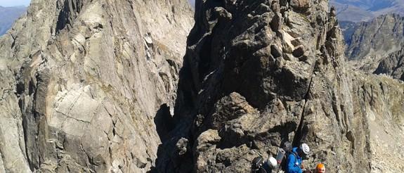 Crestas en el Parque Nacional de Aiguestortes