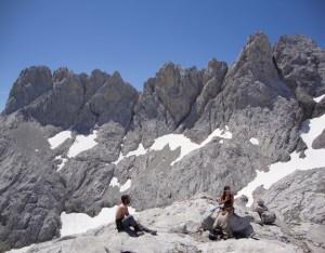 Madejuno-Tiro Llago, crestas en Fuente De