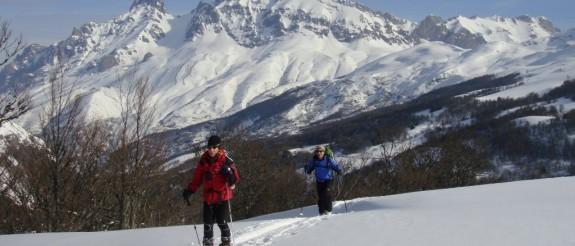 Esqui de travesía en Picos de Europa 2 dias, Macizo Central