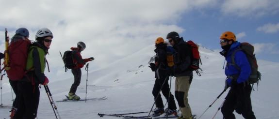 Esqui en Fuentes Carrionas