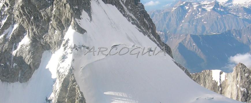 Integral de Peuterey. Mont Blanc.