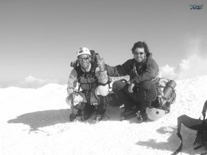 Integral de Peuterey. Cumbre del Mont Blanc
