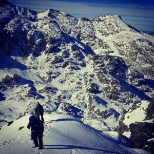 Circo de Gredos, escalada en hielo