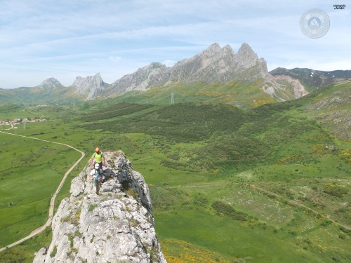 Cresta peña muezca, valle de arvas