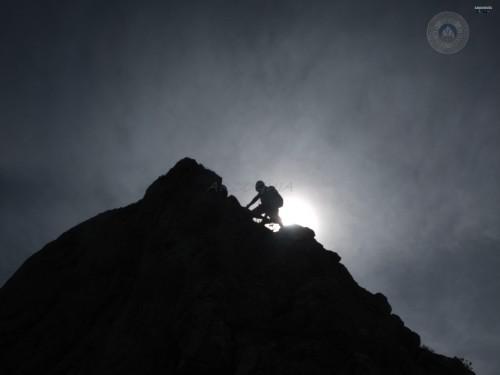 Cresta peña muezca, valle de Arbas