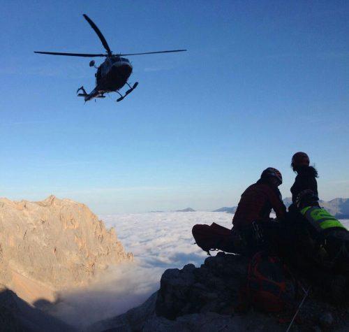 Rescate en los Picos de Europa, Horcados Rojos