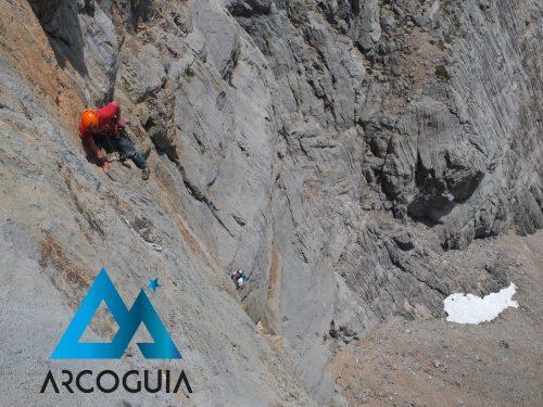 Croquis Maraya, Horcados Rojos. Picos de Europa.