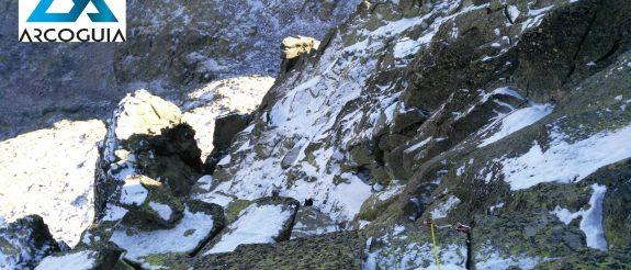 Condiciones del Almanzor el 4/12/2017