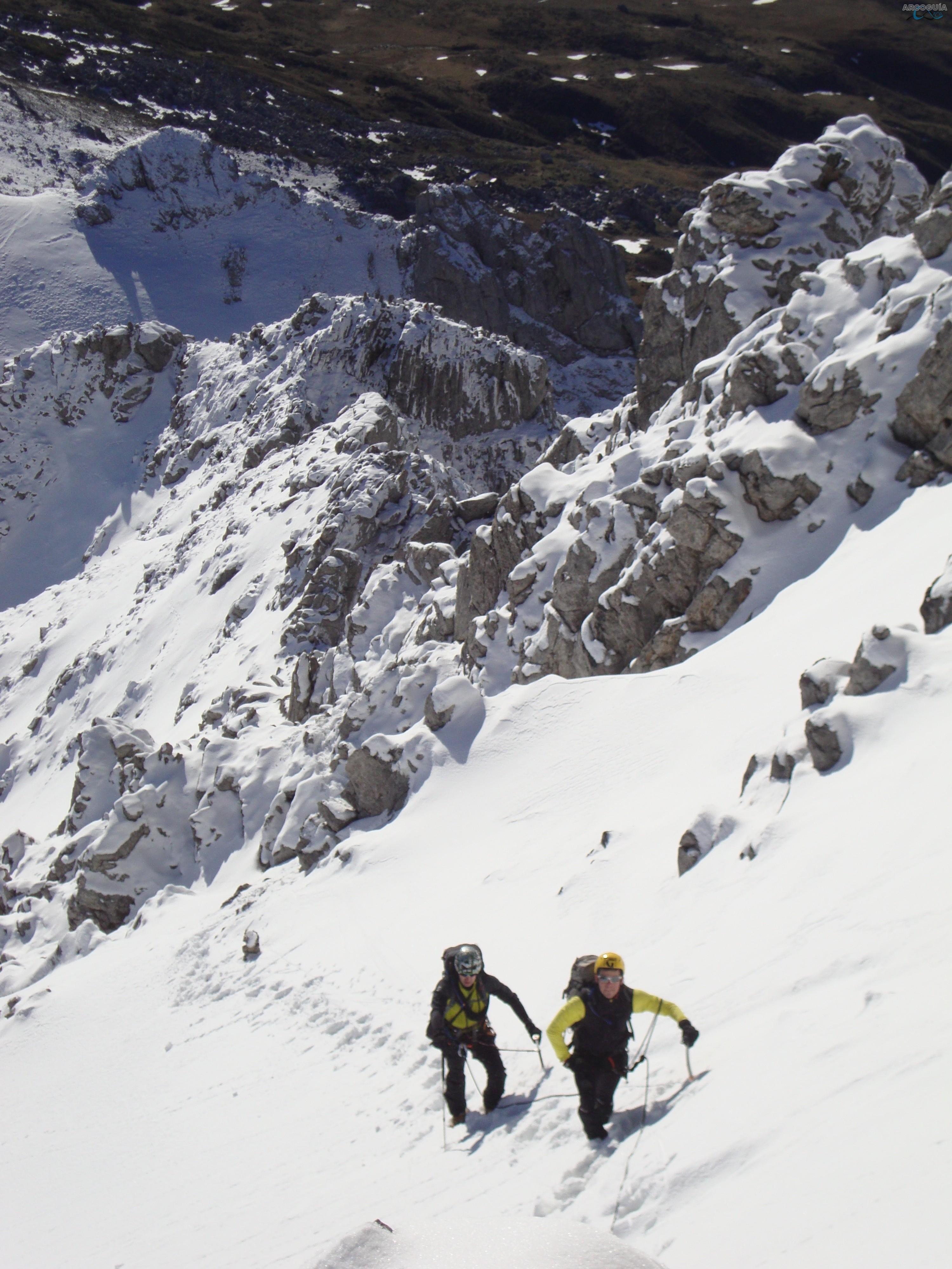 Curso alpinismo avanzado, Picos de Europa