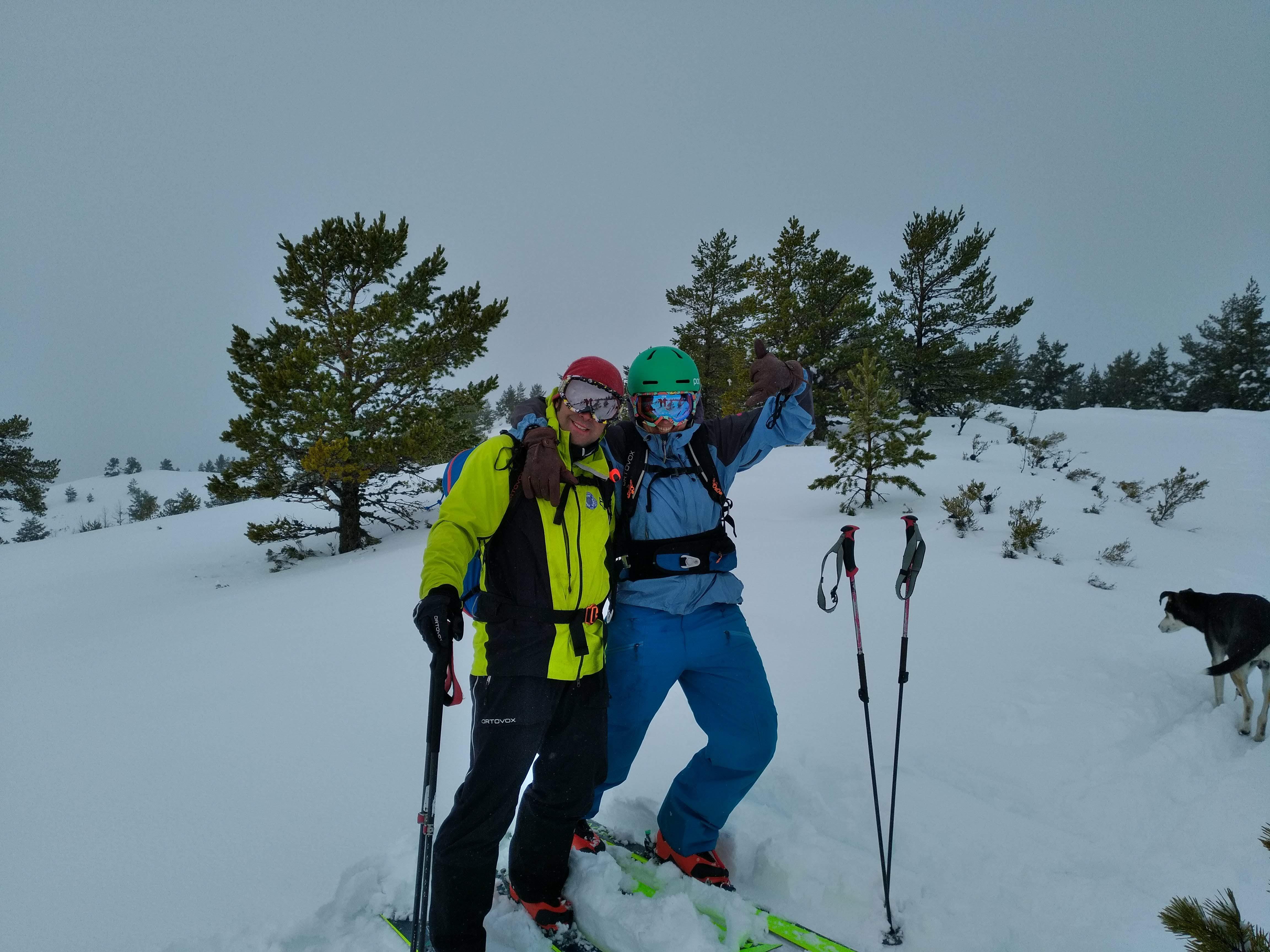 Esqui en Laciana y Babia (Leon)
