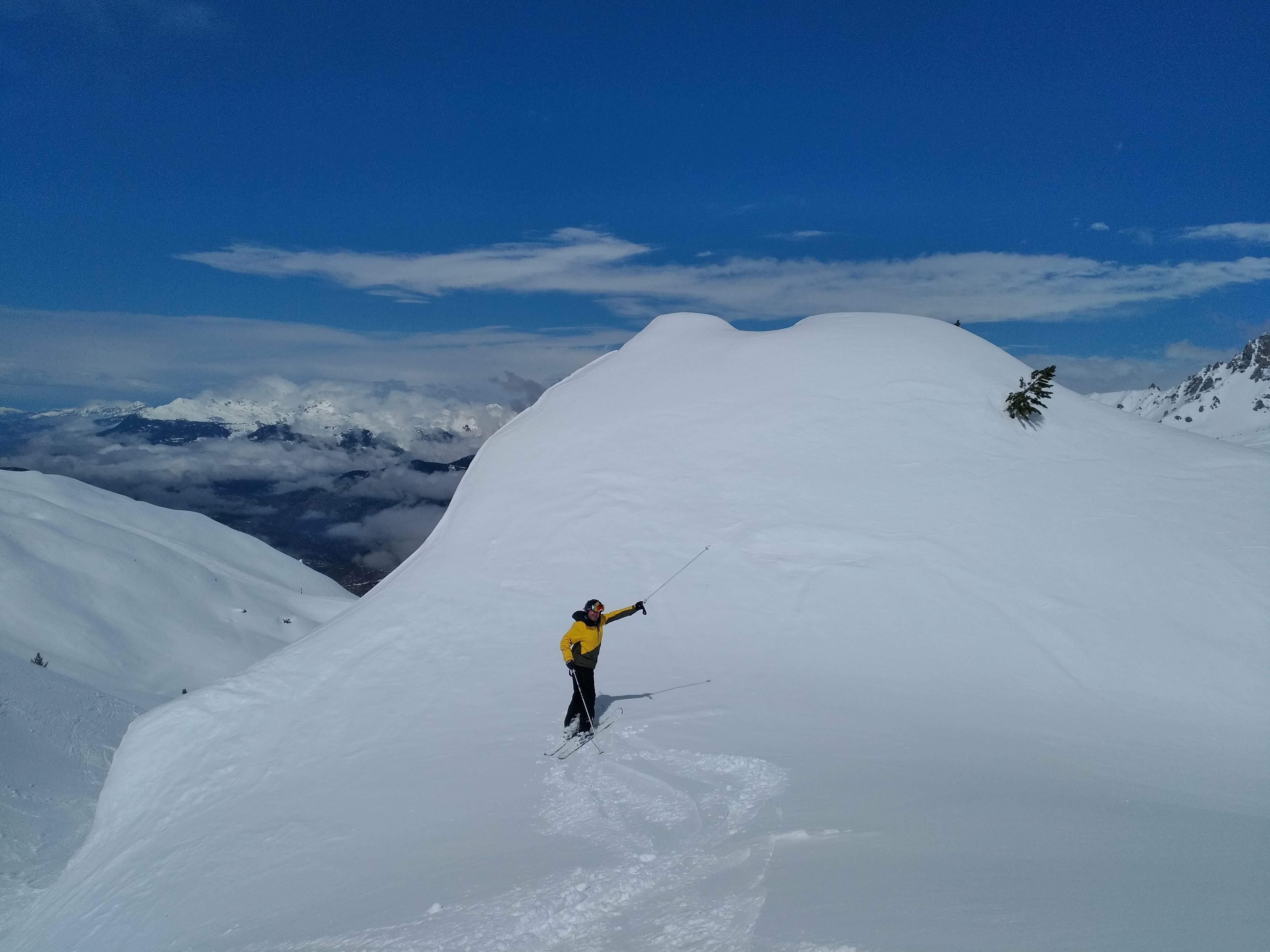 esqui fuera pista vanoise, Alpes