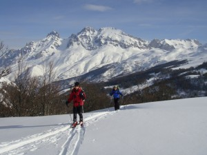 Actividades guiadas de esqui de travesía en los Picos de Europa
