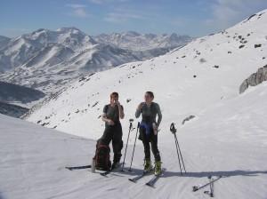 Esqui de travesía en la Cordillera Cantabrica