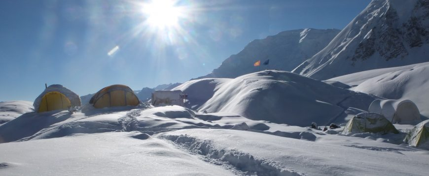 El pico Lenin (7,134 m), Pamir