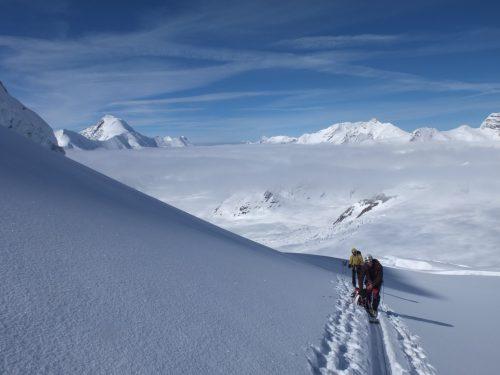 Oberlan Bernes esqui de travesia