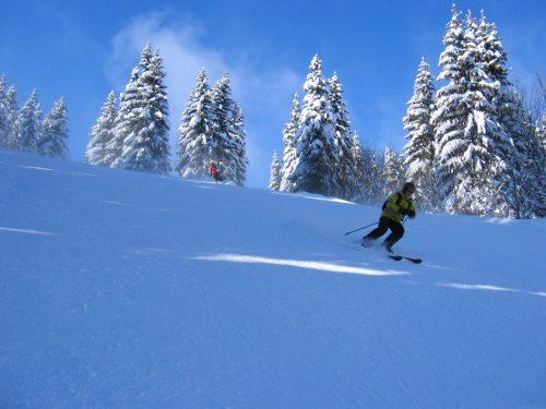 Esqui fuera pista la vanoise