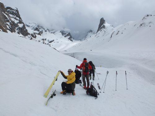 alta ruta vanoise, alpes