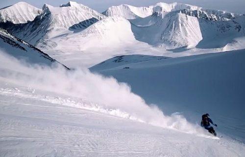 esqui en Kebnekaise