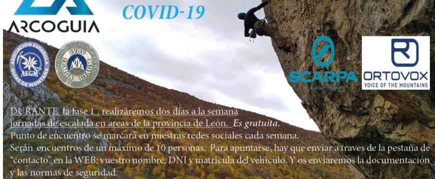 JORNADAS DE ESCALADA COVID-19