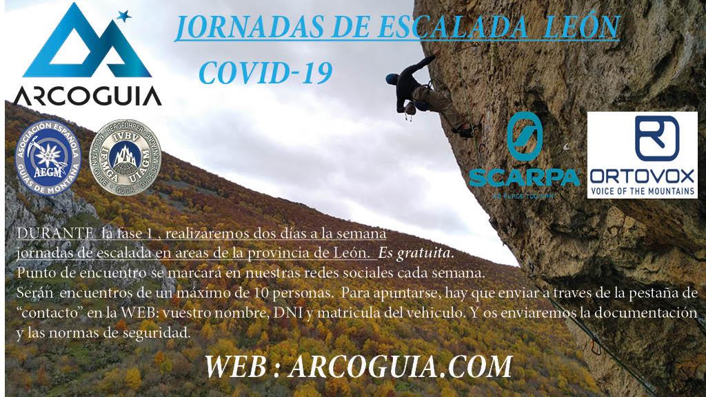 jornadas de escalada covid 19